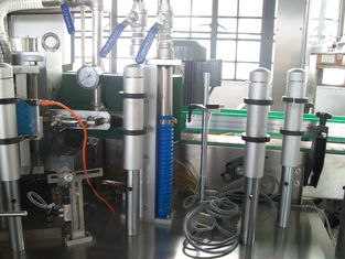 China 8 KW Automatik Hot Melt Klebstoff Wein Flasche, pet-Flasche Labeling, Label-Maschine usine