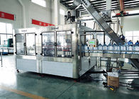 Rotary PET Bottle Filling Machine Mineral Water Rinsing Washing And Capping