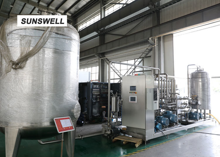 Electricity Saving Carbonated Filling Machine  With YHZ Type Mixer Used In Chiller And Warmer