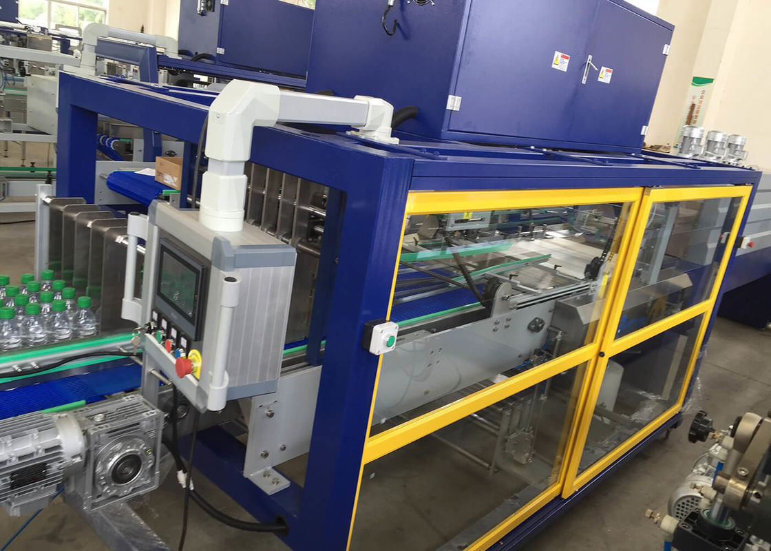 Carton Wrap Round Packer Case Sealer Machine With Electric Driven Type