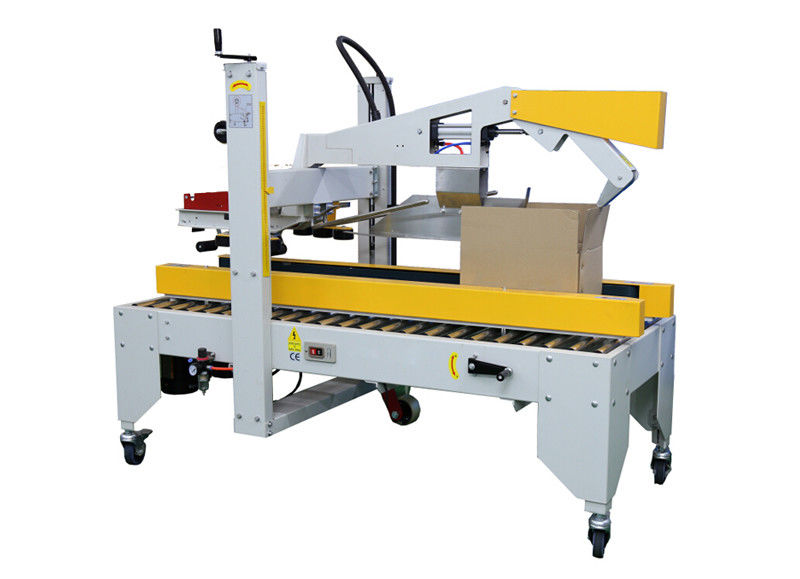 High Efficiency Shrink Packaging Equipment Carton / Case Cover Folding And Sealing