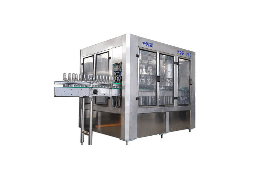 Carbonated Drinks Beverage Beer Filling Machine Washing Capping Bottling Packing