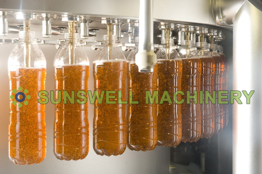 Full Automatic Juice Filling Machine Packing Line For Apple / Mango / Orange