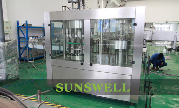 Automatic Water Filling Machines For Liquid / PET Bottle