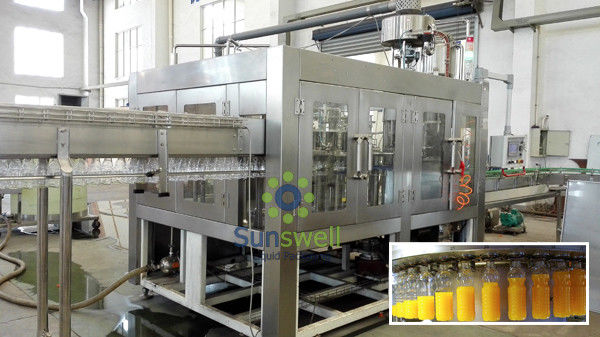 Soy Milk Filling Machine Automatic , Beverage Processing Machine